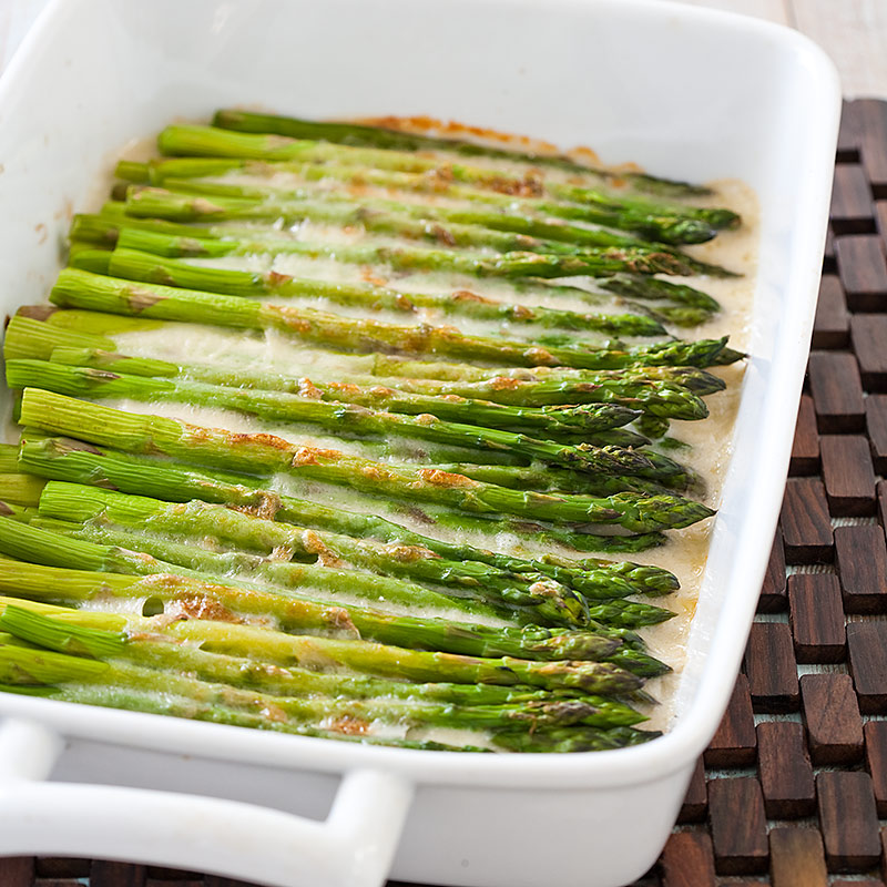 Asparagus Gratin Recipe — Dishmaps