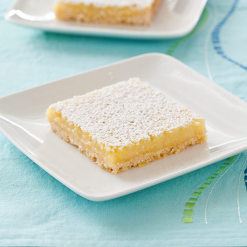 Reduced-Fat Lemon Squares Recipe - Cook's Country