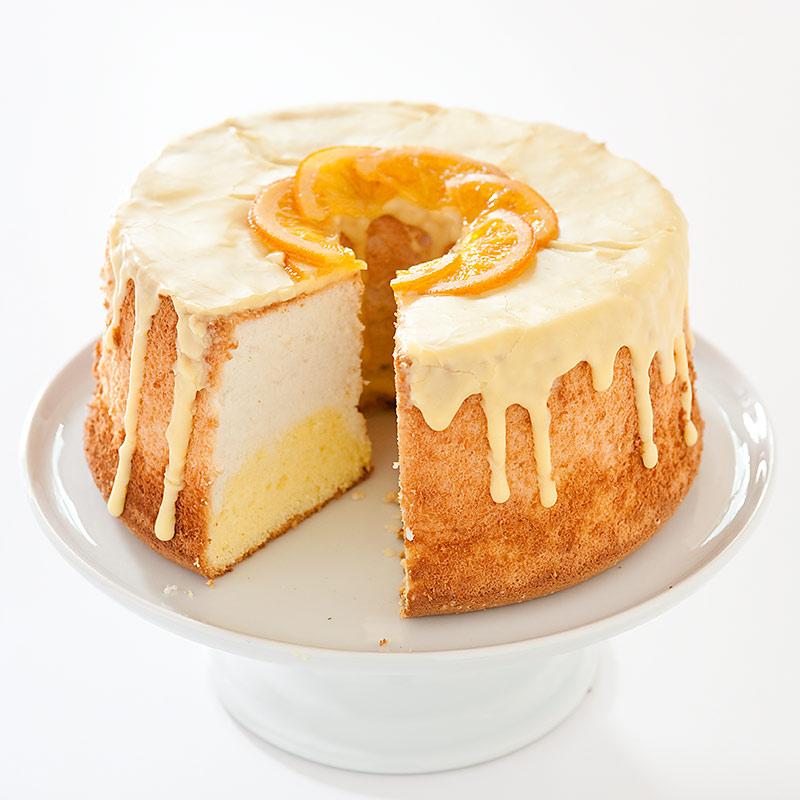 Daffodil Angel Food Cake Recipe