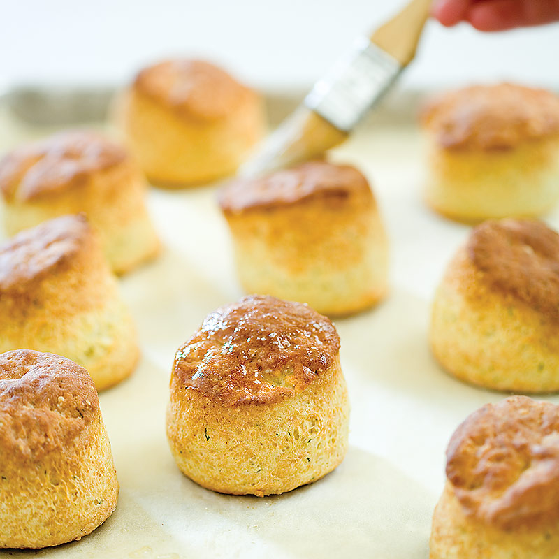 High-Rise Herb Biscuits