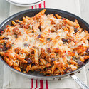 Skillet Penne with Olives and Capers