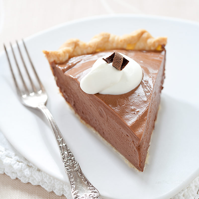 French Silk Chocolate Pie Recipe - Cook's Country