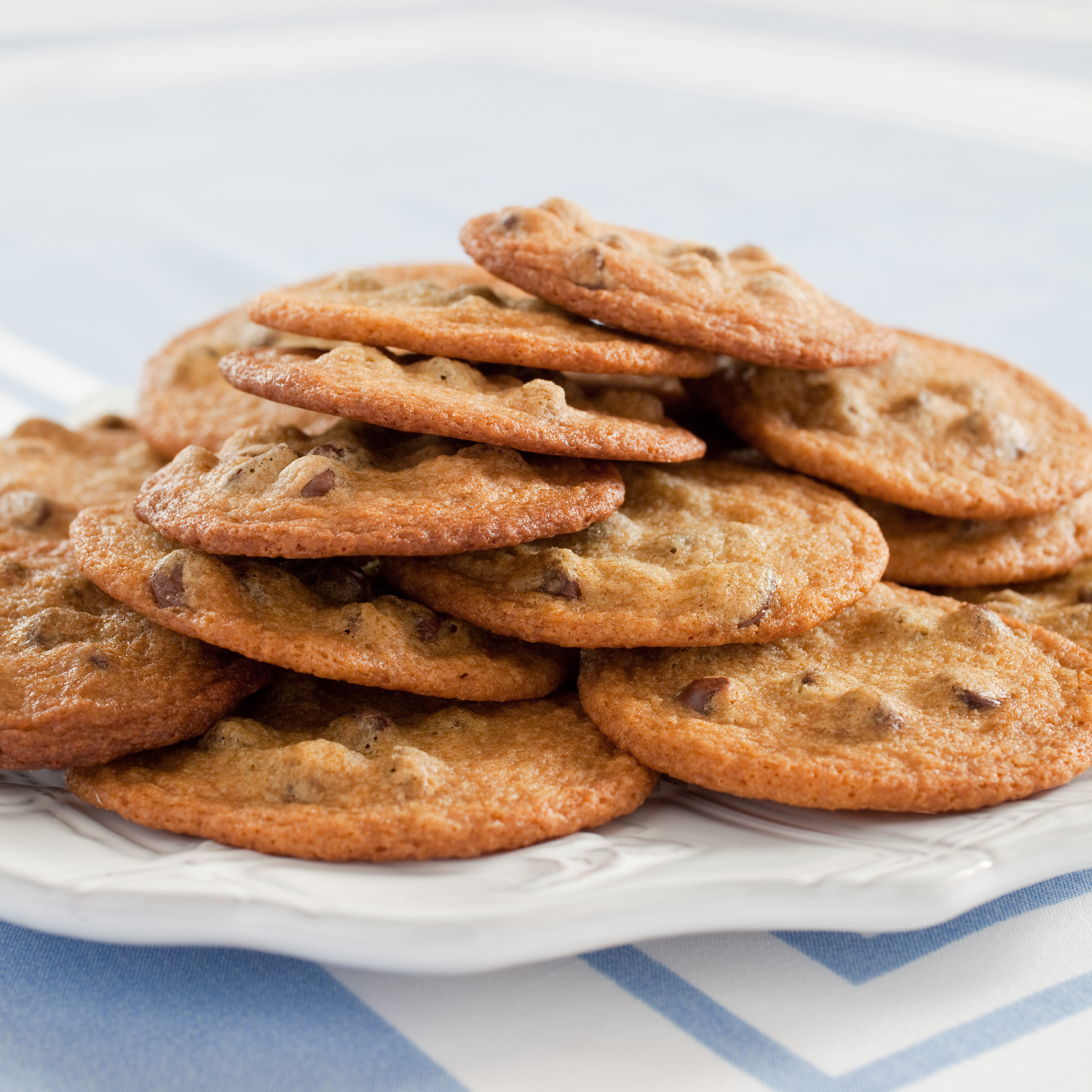 Thin, Crispy Chocolate Chip Cookies Recipe - Cook's Illustrated