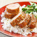 Ginger-Glazed Pork Tenderloin