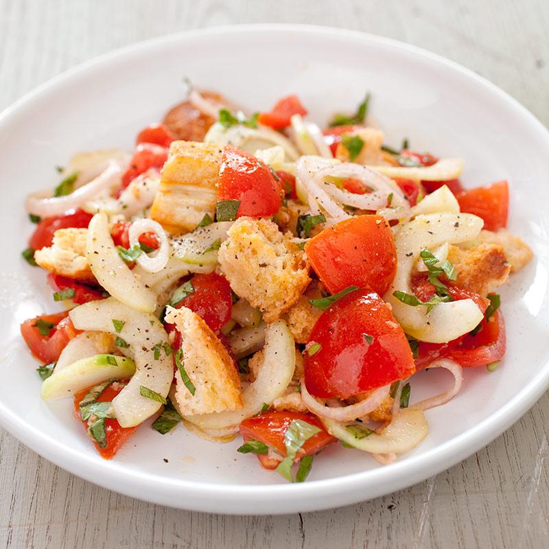 Italian Bread Salad (Panzanella) Recipe - America's Test Kitchen