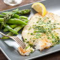 Pan-Fried Sole with Lemony Herb Butter