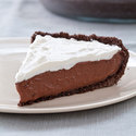 Reduced-Fat Chocolate Cream Pie