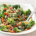 Broccoli Salad with Currants and Pine Nuts