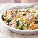 Skillet Penne with Chicken and Broccoli