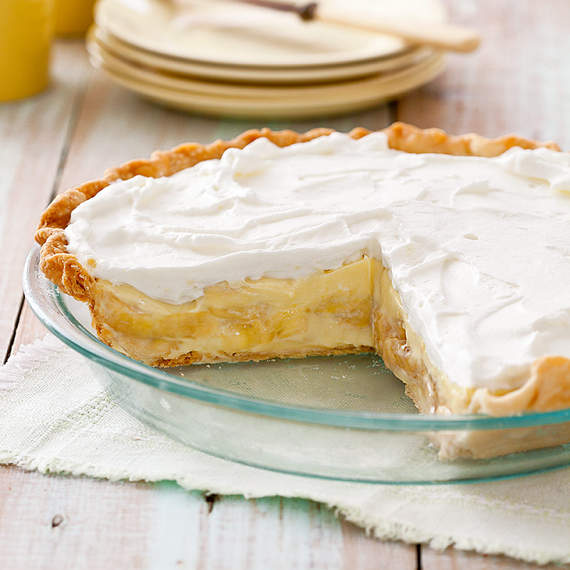 Banana Cream Pie Recipe — Dishmaps
