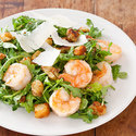 Shrimp and Arugula Salad with Lemon Vinaigrette