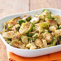 Brussels Sprouts with Apples and Almonds