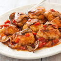 Weeknight Chicken Cacciatore