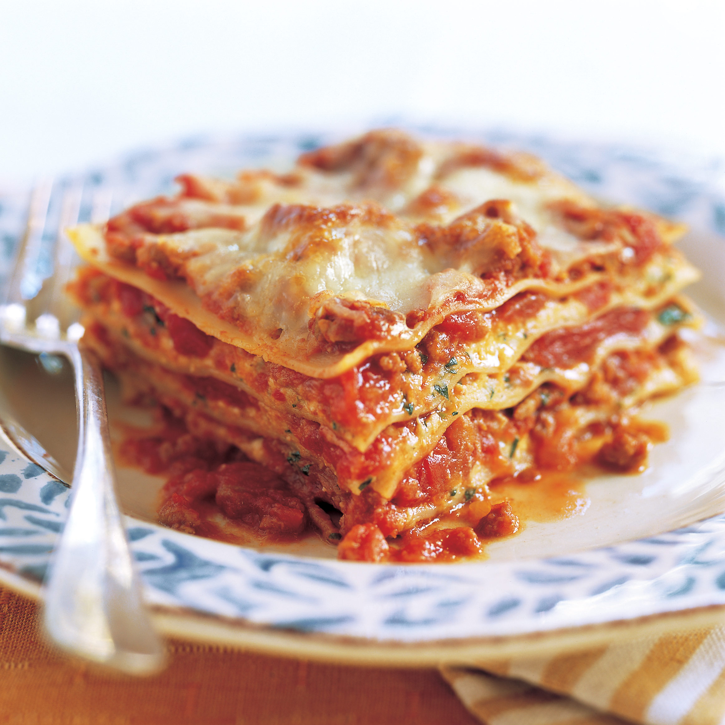 Light Meat and Cheese Lasagna Recipe - Cook's Illustrated