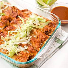 Lighter Chicken Enchiladas Recipe - Cook's Illustrated