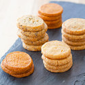 Mustard and Caraway Cheese Coins