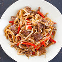 Stir-Fried Beef and Rice Noodles