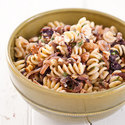 Pasta with Roasted Onions, Radicchio, and Blue Cheese