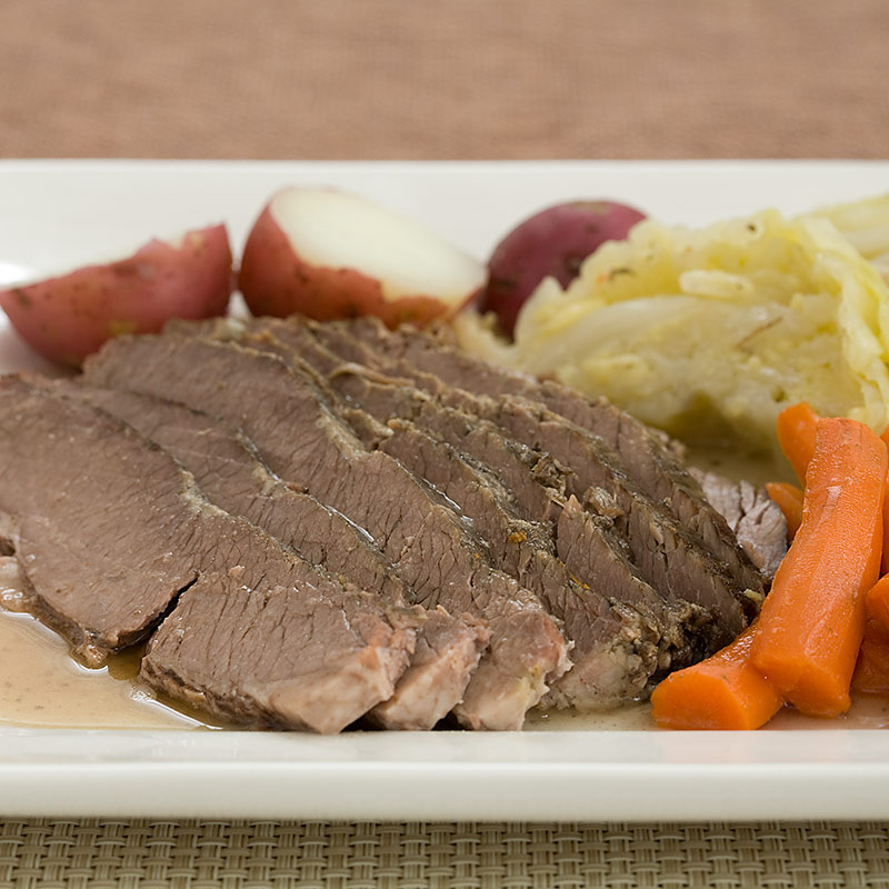 New England–Style Home-Corned Beef and Cabbage Recipe - America's ...