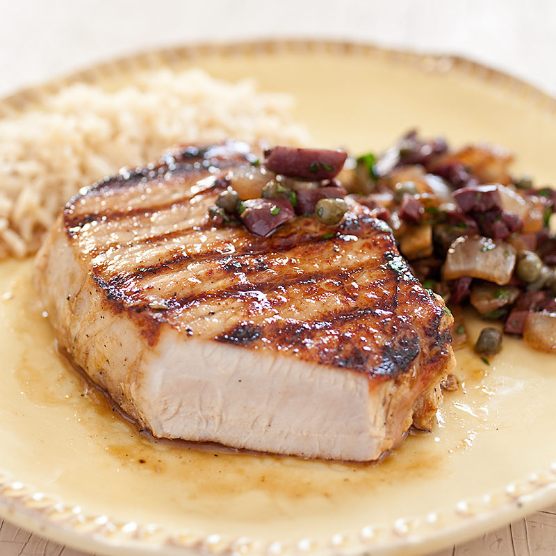 Easy Grilled Boneless Pork Chops