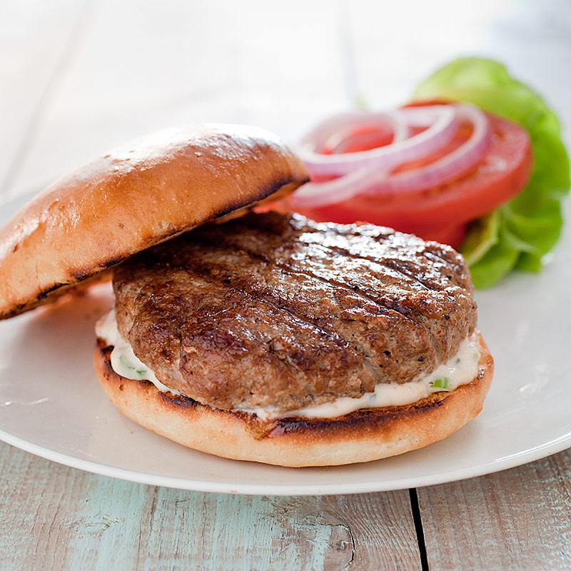 Juicy Grilled Turkey Burgers Recipe - Cook's Illustrated