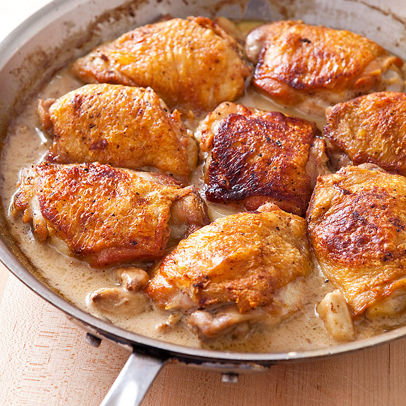 Chicken With 40 Cloves Of Garlic Recipe — Dishmaps