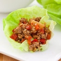 Sweet and Spicy Pork Lettuce Wraps