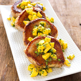 Detail sfs boneless pork chops mango mint salsa 16