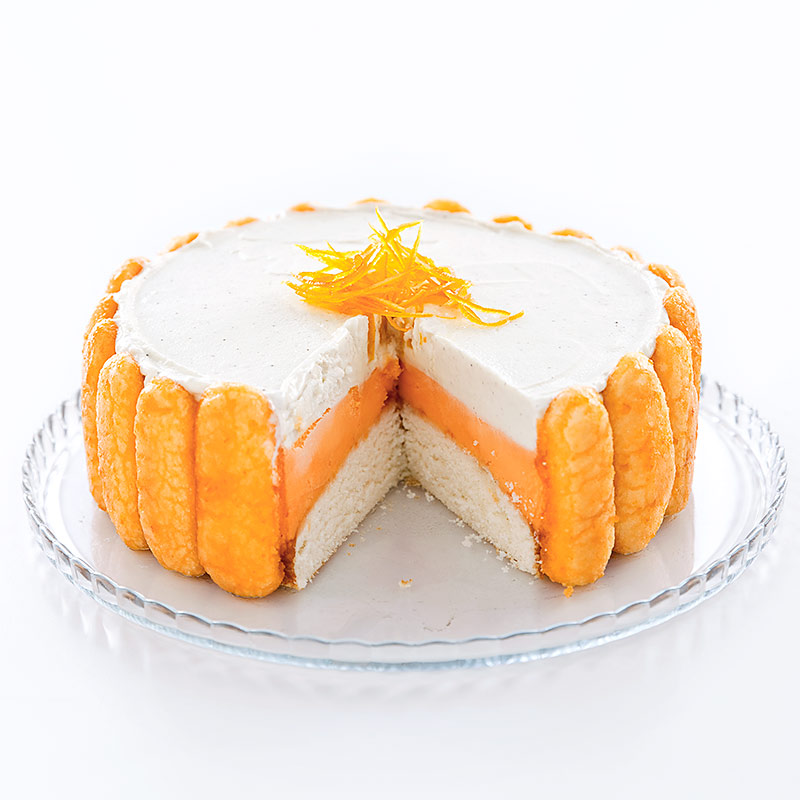 Orange Creamsicle Ice Cream Cake Recipe - Cook's Country