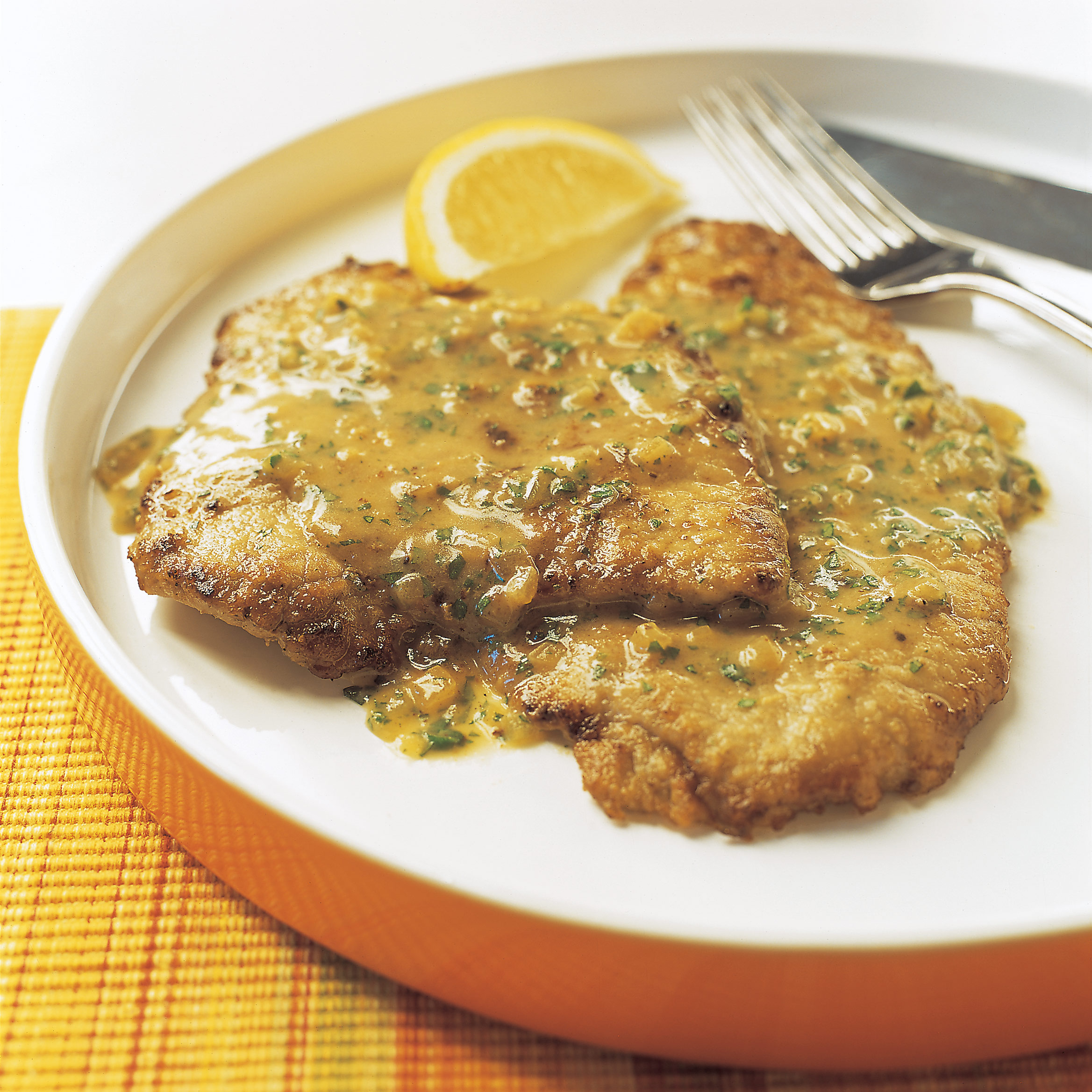 ... veal is when the sauce is nicely veal scaloppine veal veal scaloppini