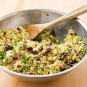 Cherry and Goat Cheese Couscous Salad