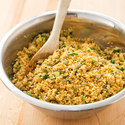 Cilantro and Pepita Couscous Salad