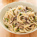 Spaghetti with Shiitakes and Lemon