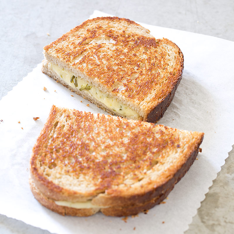 Grown-Up Grilled Cheese Sandwiches with Robiola and ...