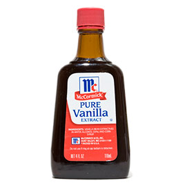 cooking with vanilla extract