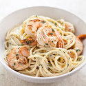 Garlicky Shrimp Pasta with Tarragon