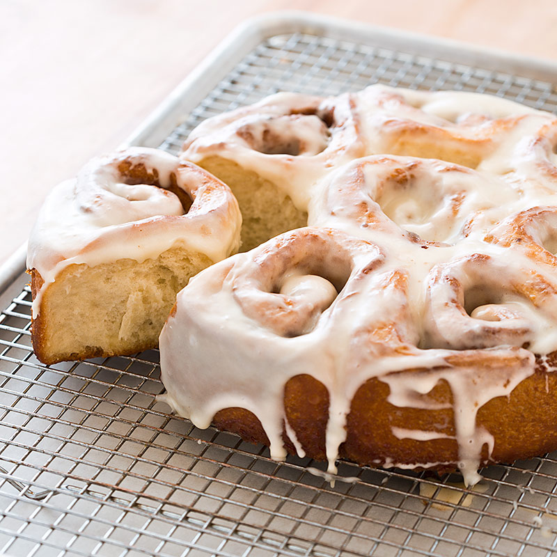 Quicker Cinnamon Buns