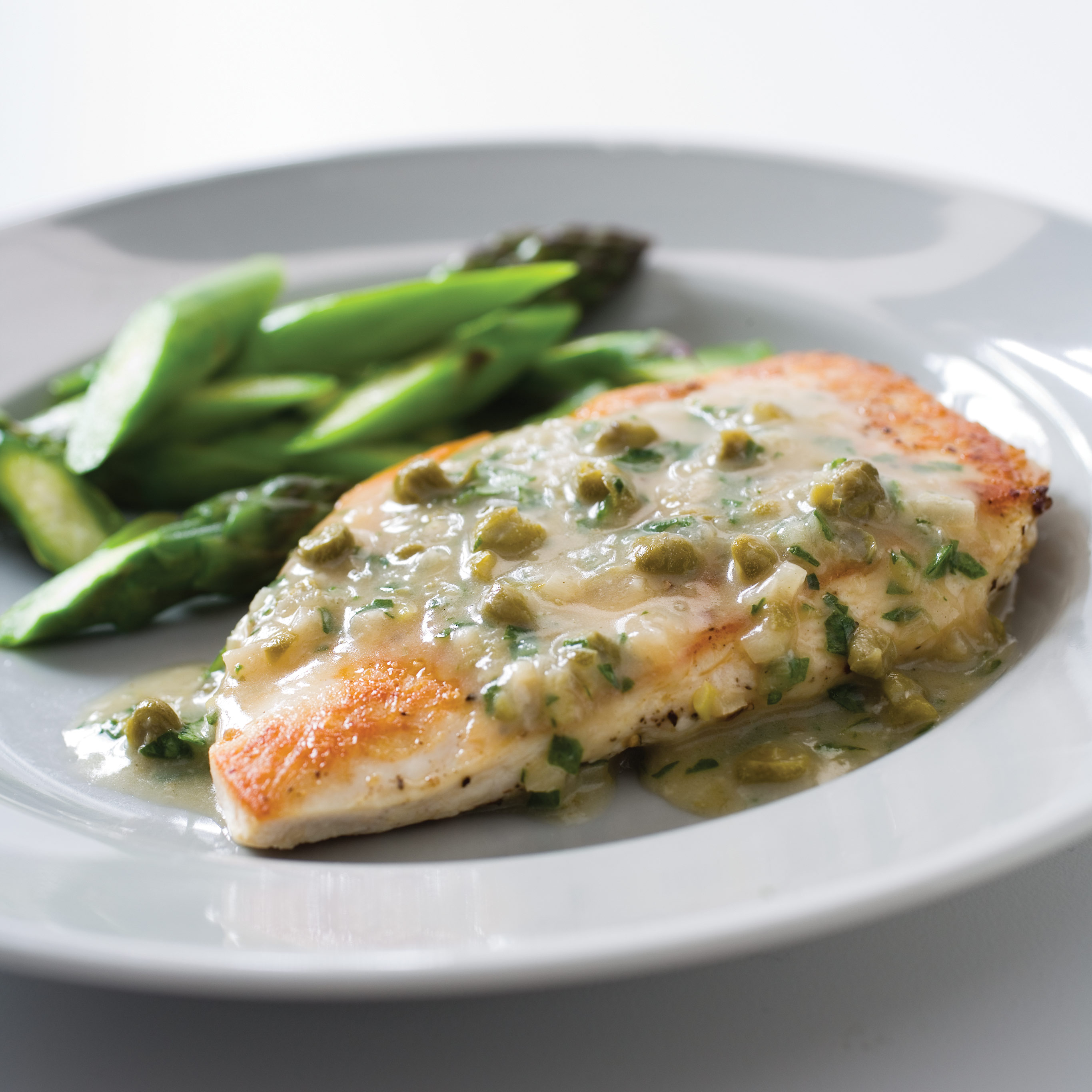Sauteed Chicken Breasts Recipe With Tarragon-Mustard Pan ...