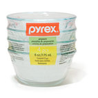 Pyrex 6-ounce Dessert Dishes, Set of 4