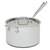 All-Clad Stainless 4-Quart Saucepan with Lid and Loop