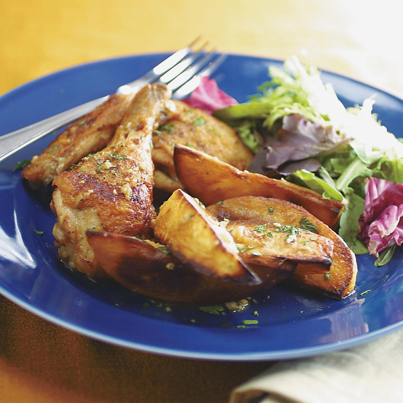 Chicken Vesuvio Recipe - Cook's Illustrated