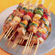 Grilled Chicken Kebabs Dinner for 6