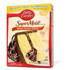 Betty Crocker Super Moist Butter Recipe Yellow Cake Mix