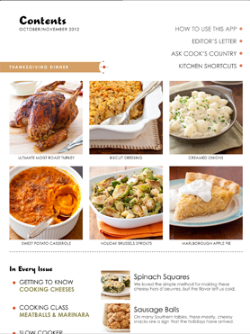 Cook S Country Magazine Ipad App Cook S Country