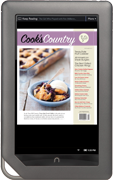 Cooks Country on Nook