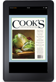 Cooks Illustrated on Kindle