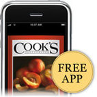 Download our Free Cook's Illustrated iPhone App