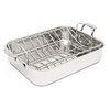 "Cuisinart Chef's Classic 16"" Roasting Pan with Rack"