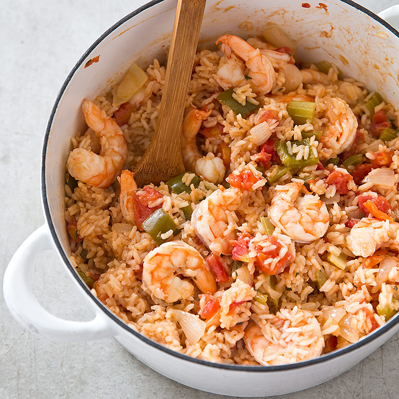 Charleston Shrimp Perloo