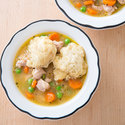 Chicken and Dumplings for Two